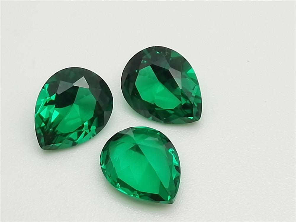 Emerald green nano gemstone